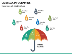 Umbrella Infographics PPT Slide 22