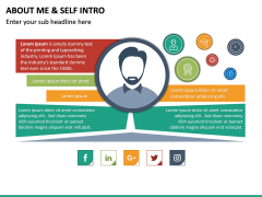 About Me / Self Intro PPT Slide 20