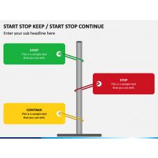 Start Stop Keep PPT Slide 1