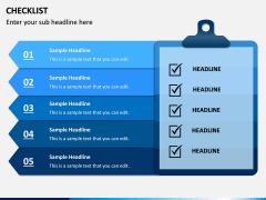 Checklist PPT slide 3