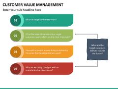 Customer Value Management PPT Slide 22