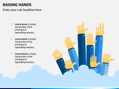 Raising Hands PPT Slide 2