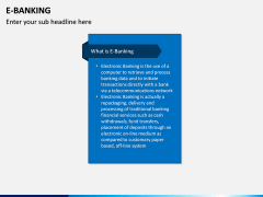 E-Banking PPT Slide 1