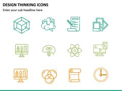 Design Thinking Icons PPT Slide 6