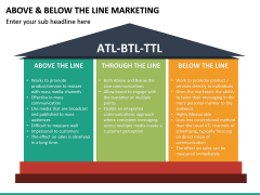 Above and Below the Line Marketing PPT Slide 18