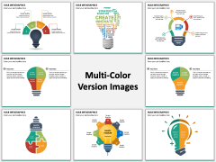Bulb Infographics PPT Slide MC Combined