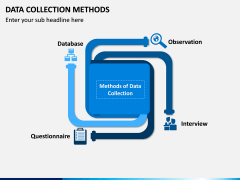 Data Collection Methods PPT Slide 1