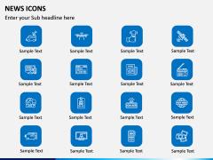 News Icons PPT Slide 7