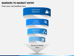 Barriers to Market Entry PPT Slide 1
