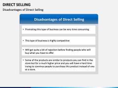 Direct Selling PPT Slide 16