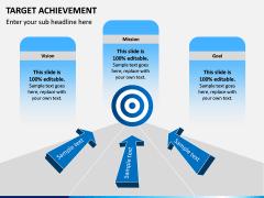 Target Achievement PPT slide 2