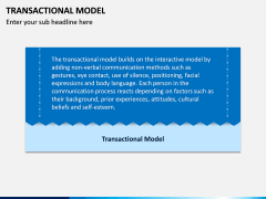 Transactional Model PPT Slide 1