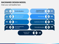 Backward Design Model PPT Slide 10