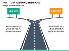Short Term and Long Term Plan PPT Slide 23