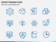 Design Thinking Icons PPT Slide 2
