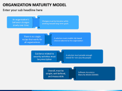 Organization Maturity Model PPT Slide 13