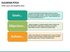 Elevator Pitch PPT Slide 24