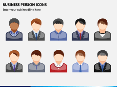 Business Person Icons PPT Slide 3