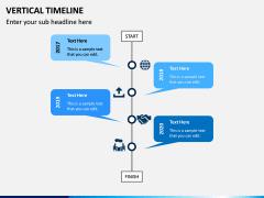 Vertical Timeline PPT Slide 5