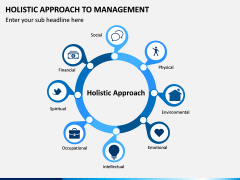 Holistic Approach to Management PPT Slide 1