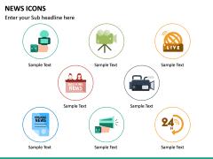 News Icons PPT Slide 10