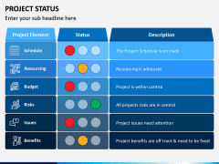 Project Status PPT Slide 2