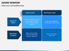 Johari Window PPT Slide 8