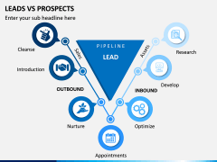 Leads Vs Prospects PPT Slide 1