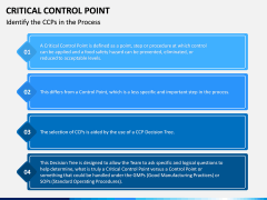 Critical Control Point PPT Slide 10