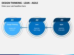 Design Thinking - Lean - Agile PPT Slide 4