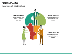 People Puzzle PPT Slide 15