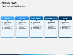 Action Plan PPT Slide 11