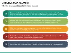 Effective Management PPT Slide 26