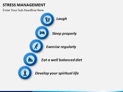 Stress management PPT slide 15
