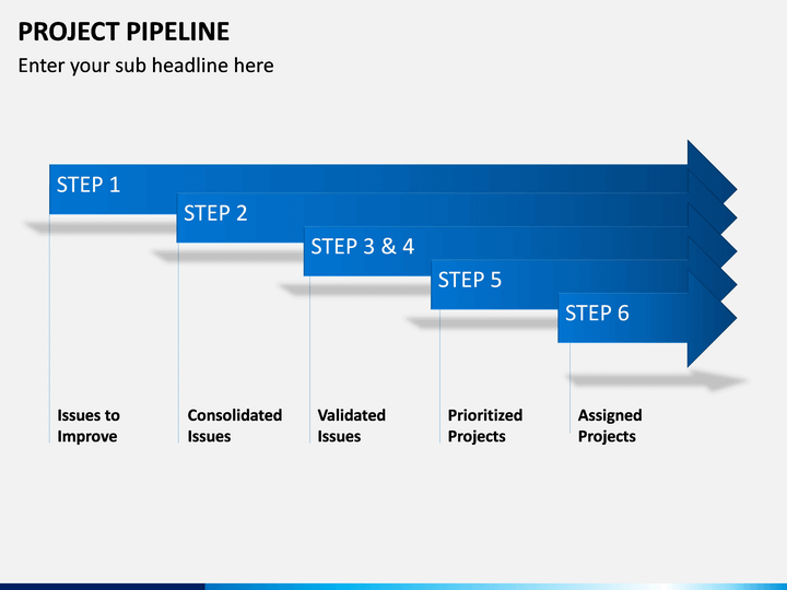 project pipeline powerpoint template