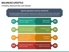 Balanced Lifestyle PPT Slide 14
