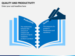 Quality and Productivity PPT Slide 1