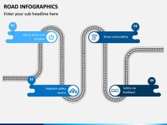 Road Infographics PPT Slide 8