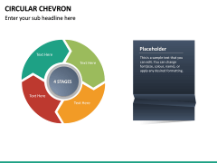 Circular Chevron PPT Slide 16
