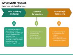 Investment Process PPT Slide 22