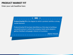 Product Market Fit PPT slide 3