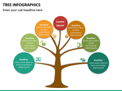 Tree Infographics PPT Slide 21