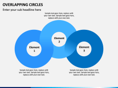 Overlapping Circles PPT Slide 10