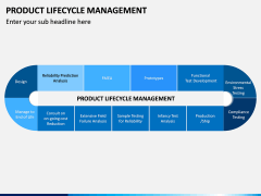 Product Life-cycle Management PPT Slide 1