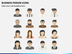 Business Person Icons PPT Slide 2