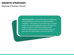 Growth Strategies PPT slide 36