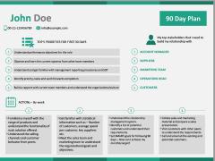 30 60 90 Day Plan PPT Slide 32