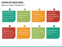Center of Excellence PPT Slide 15