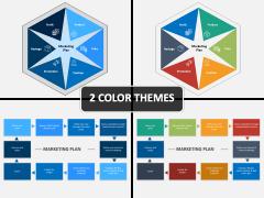 Marketing plan PPT cover slide