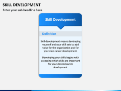 Skill Development PPT slide 2